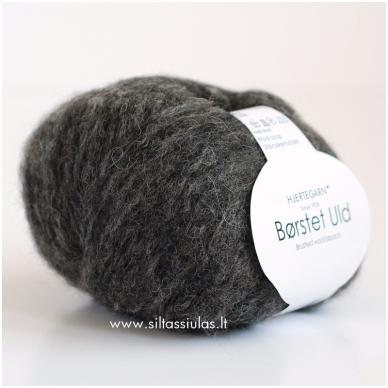 Hjertegarn Brushed Wool 403 tamsiai pilka