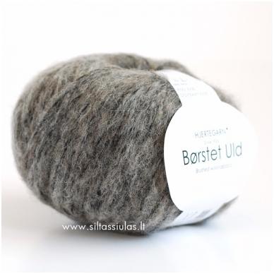 Hjertegarn Brushed Wool 435 vidutinė pilka
