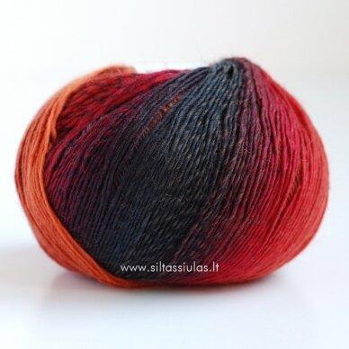 Hjertegarn Longcolors 17 Rudens ritmu