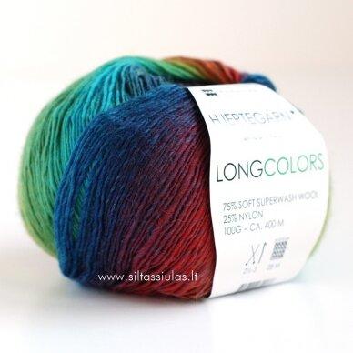 Hjertegarn Longcolors 19 Džiunglių spalvomis 2