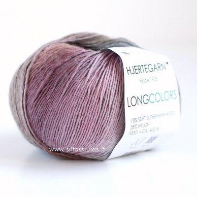 Hjertegarn Longcolors 27 Dvaro rožynu 2