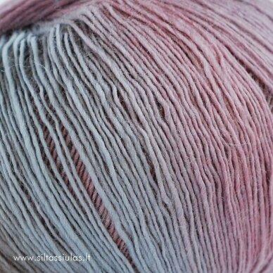 Hjertegarn Longcolors 27 Dvaro rožynu 3