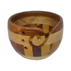 Indas mezgimo siūlams (įvairaus medžio)
