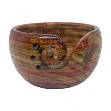 Indas mezgimo siūlams (pušinis, rausvas)