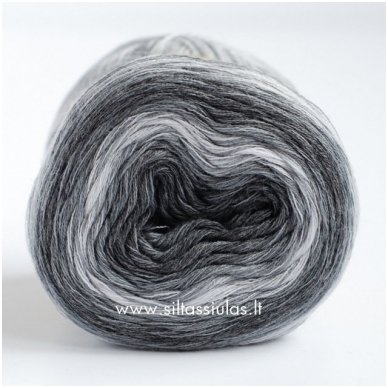 JoJo 3 ply/100 g Degrade Grey 4145