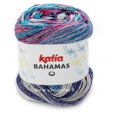 Katia Bahamas 66 žydra - ciklamenas
