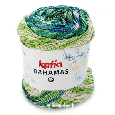 Katia Bahamas 60 žalia - mėlyna