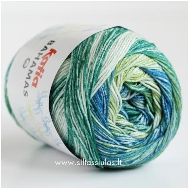 Katia Bahamas 60 žalia - mėlyna 2