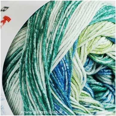Katia Bahamas 60 žalia - mėlyna 3