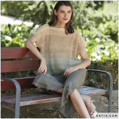 Katia Concept Silk Degrade 302 pilkai žalsva 4