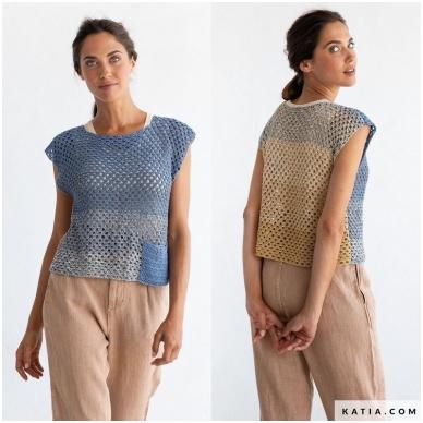 Katia Concept Silk Degrade 305 garstyčios - melsva 5