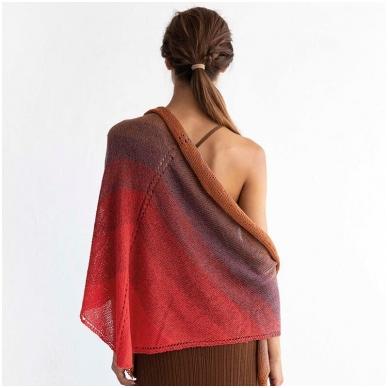 Katia Concept Silk Degrade 306 raudona 4