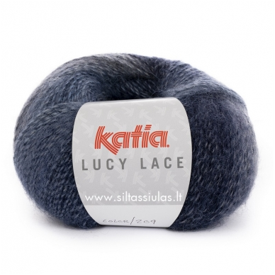 Katia Lucy Lace 209 šviesiai - tamsiai mėlyna
