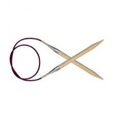KnitPro Basix Birch virbalai su valu 80 cm/6,00 mm