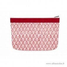 KnitPro dėklas mezgimo priemonėms (medeliai, raudonas)