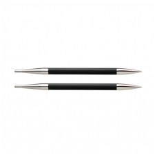 KnitPro Karbonz prisukami virbalai (ilgesnieji) 4,50 mm
