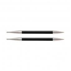 KnitPro Karbonz prisukami virbalai (trumpesnieji) 3,25 mm
