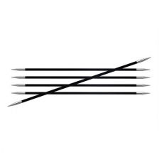 KnitPro Karbonz virbalai kojinėms 20 cm/3,25 mm