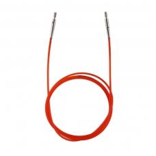 KnitPro valas prisukamiems virbalams (raudonas) 100 cm