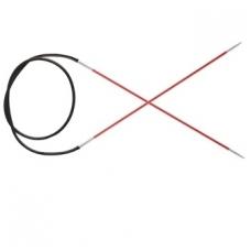 KnitPro Zing virbalai su valu 100 cm/2,00 mm