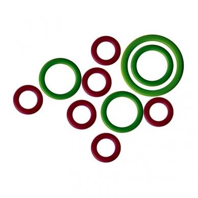 KnitPro mezgimo akių žymekliai - žiedeliai