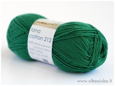 Lana Cotton 212 žolė 5511