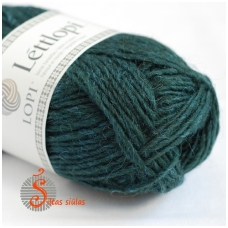 Lettlopi 1405 bottle green heather