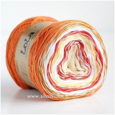 Lola 3 ply/150 g 3670 Mango 2