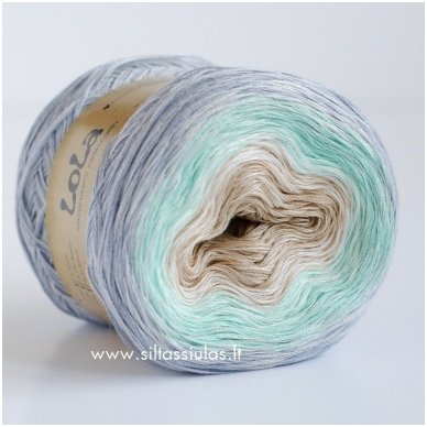 Lola 3 ply/150 g Peppermint 3607 2