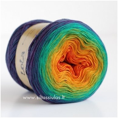 Lola 3 ply/150 g Twilight 5244 2