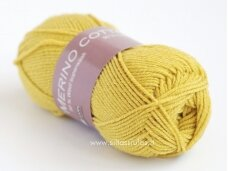 Merino Cotton 2676 geltona