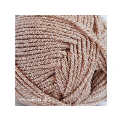 Merino Cotton 1309 smėlio rusva 2
