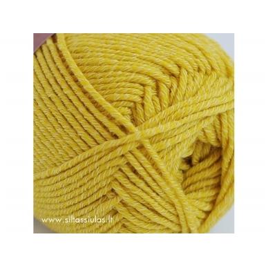 Merino Cotton 2676 geltona 2