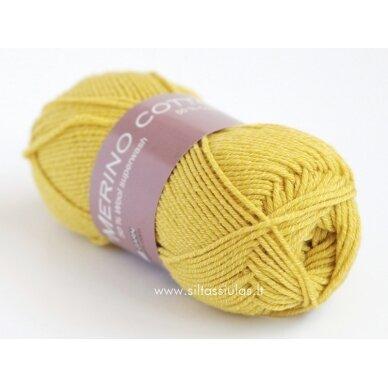 Merino Cotton 2676 geltona