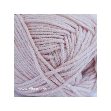 Merino Cotton 3803 blanki rausva 2