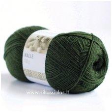 Nalle 389 evergreen (tamsi samaninė žalia)