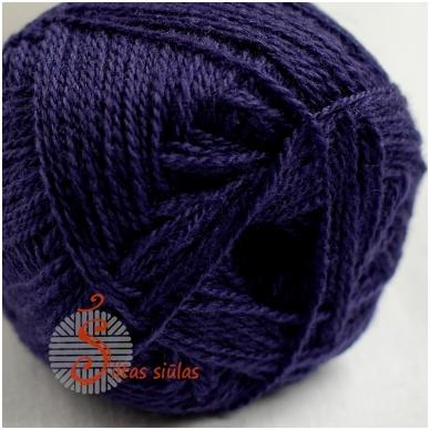 Naujosios Zelandijos vilna 133 violetinė 2