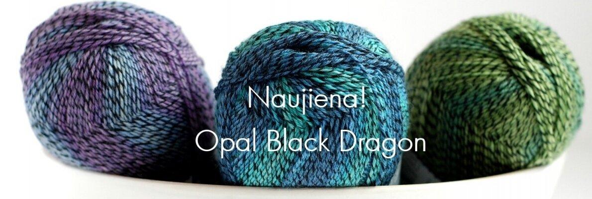 Opal Black Dragon