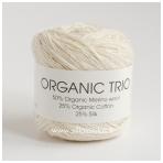 Organic Trio 5012 drobės balta