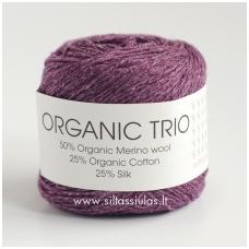Organic Trio 5028 tamsiai violetinė