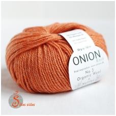 Organic Wool + Nettles No. 3 apelsinas 1115
