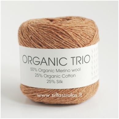 Organic Trio 5003 riešuto ruda