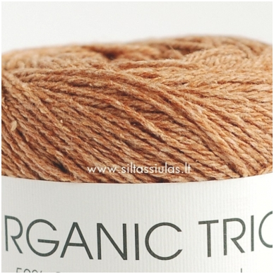 Organic Trio 5003 riešuto ruda 2