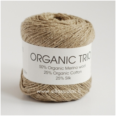 Organic Trio 5007 smėlio rusva