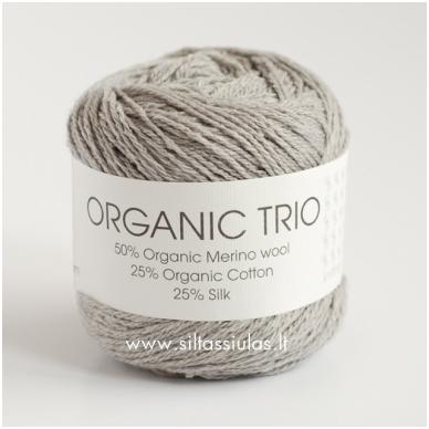 Organic Trio 5013 sidabro pilka