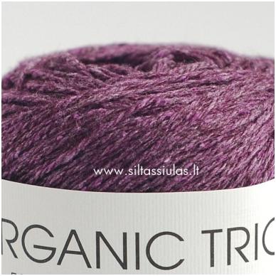 Organic Trio 5028 tamsiai violetinė 2