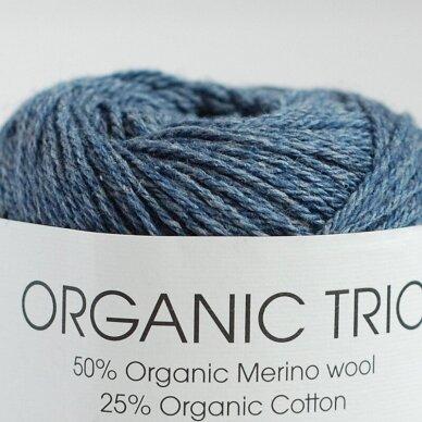Organic Trio 5034 pilkai mėlyna 2