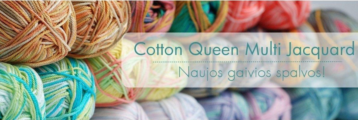 Cotton Queen Jacquard naujos spalvos