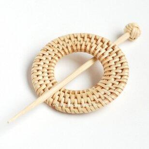 Sagė mezginiui (bambukinė)