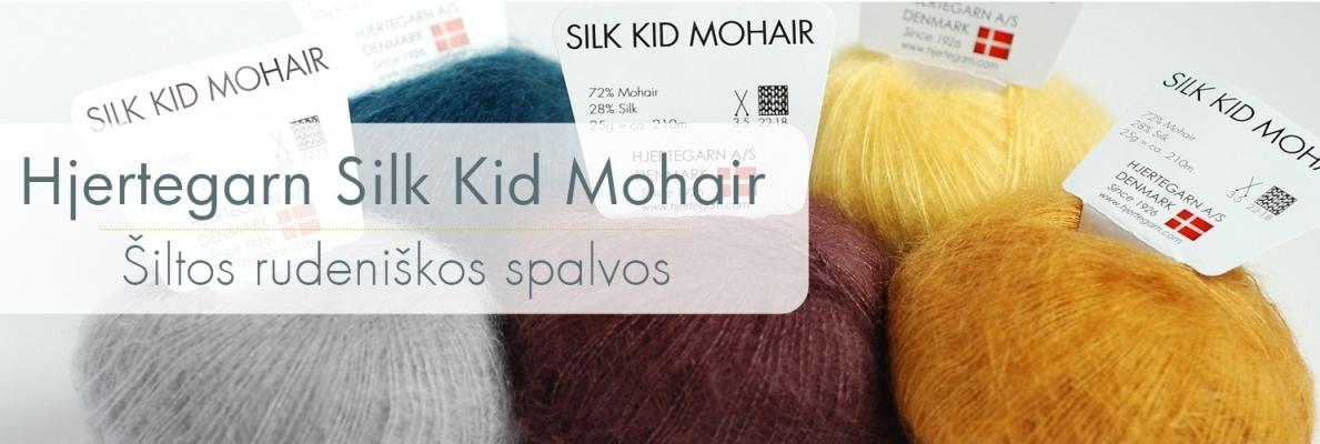 Silk Kid Mohair naujos spalvos